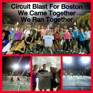 Circuit Blast for Boston Bombing victims - maria pontillo