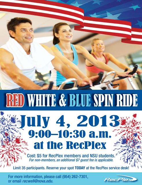 SPIN CLASS 4th of july maria pontillo