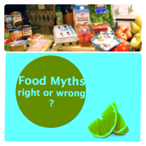 maria pontillo Fitness With Maria Food Myths