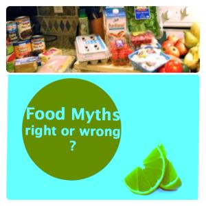 maria pontillo Fitness With Maria Food Myths