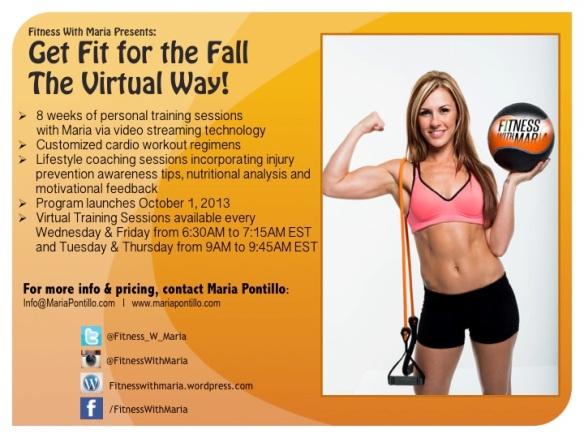 maria pontillo fall fitness virtual training