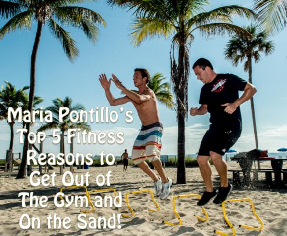 BEACH Workout benefits maria pontillo