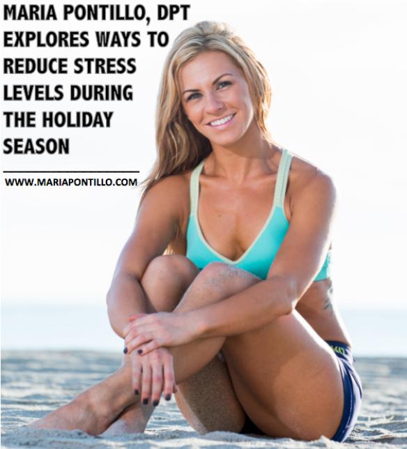 maria pontillo fitness stress relief holidays