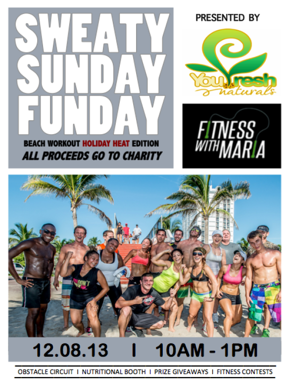 maria pontillo beach workout charity
